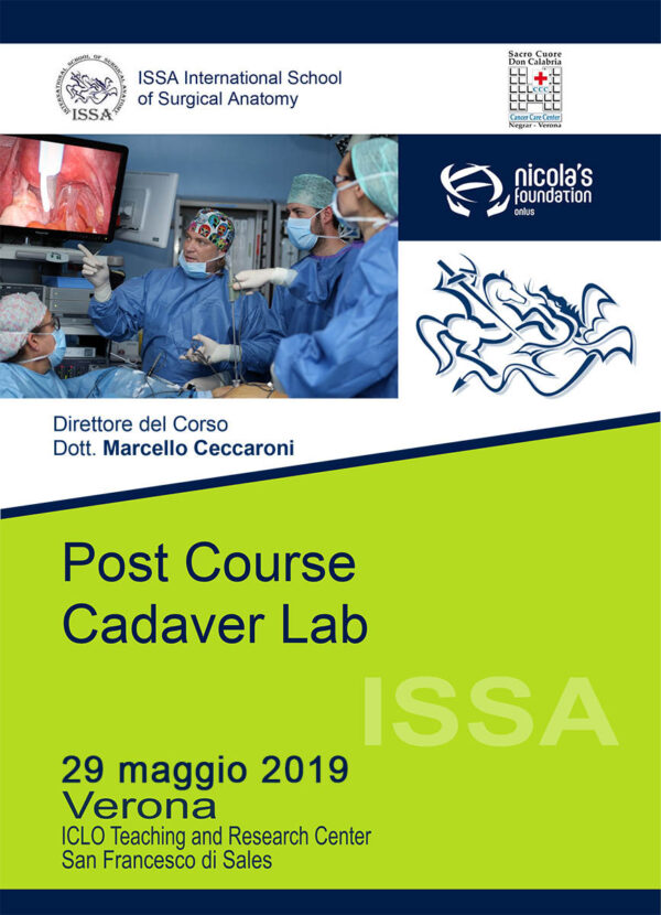 Post Course Cadaver Lab 29 maggio 2019